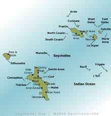 map of seychelles islands