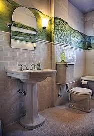 bathrooms with pedestal sinks