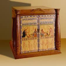 egyptian jewellery box