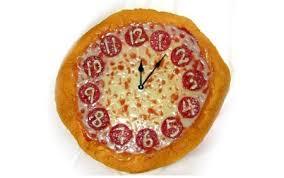 pizza clocks