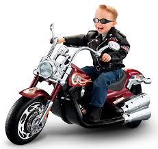 motorcycle kid