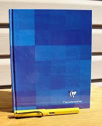 blank hardback book