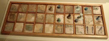 senet game board