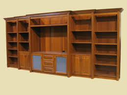 custom built shelving