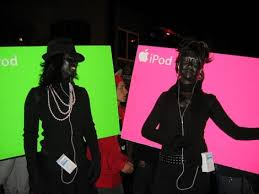 ipod commercial costume
