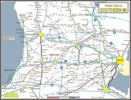 map of southern michigan