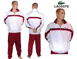 lacoste tracksuit bottoms