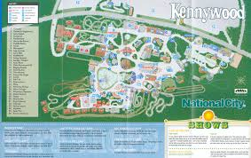 map of kennywood