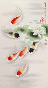 japanese koi painting