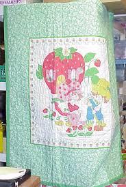 strawberry shortcake blankets