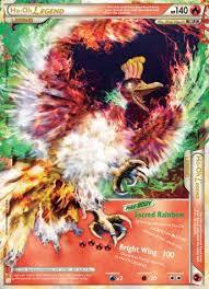 ho oh pokemon card