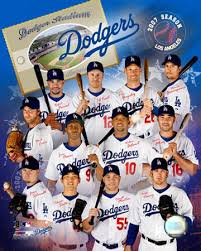 dodgers poster