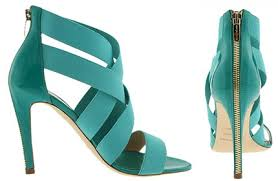 bright coloured shoes