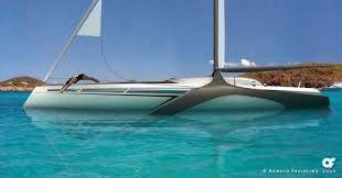 hydrofoil yachts