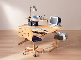 computer desks wood