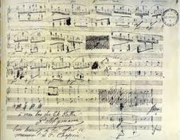 chopin manuscript