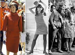 clothing from 1960