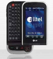 touch screen alltel phones