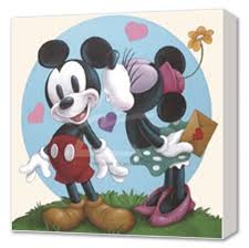 pictures of mickey mouse and minnie
