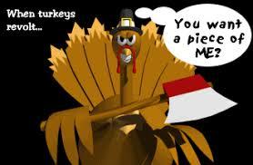 funny turkey cartoon