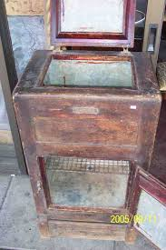 antique ice chests