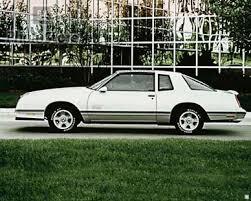 1987 monte carlo aero coupe