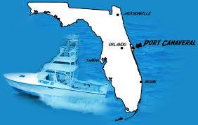 port canaveral fl map