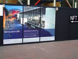 advertising hoardings