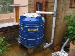 rain water collection tank
