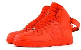 red air force one shoes