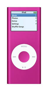 pink ipod nano 2nd gen