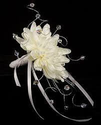 crystal flower bouquet