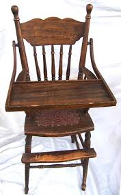 victorian high chair
