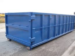 industrial trash container