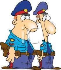 policemen cartoons
