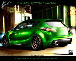 mazda 3 green