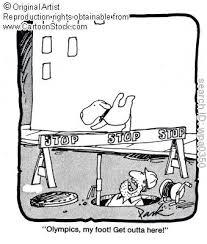 cartoon gymnasts