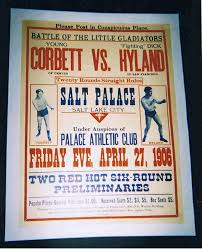 old boxing posters