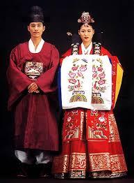 korean wedding clothes