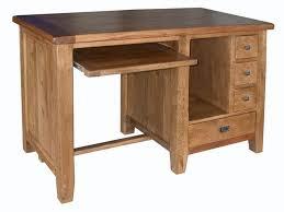 timber computer desk