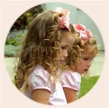 girls curly hairstyles