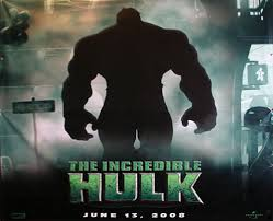 incredible hulk movie poster