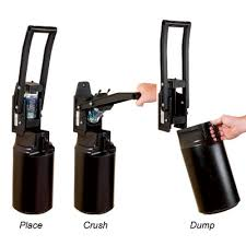 hand can crusher