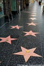 hollywood walk of fame photos