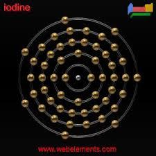 iodine structure