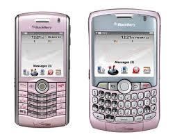 pink blackberry phones