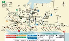 mississauga transit map