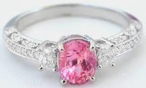 padparadscha sapphire rings