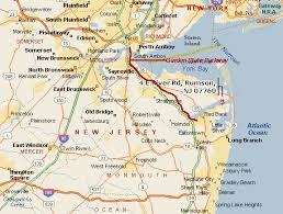 map of monmouth county