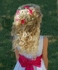 hairdos for flower girls